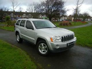 Jeep Grand Cherokee 3.0CRD 215bhp 4X4 Limited Station Wagon 5d 2987cc Auto