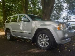 Jeep Grand Cherokee 3.0CRD 4X4 Auto Overland + Fab Spec + Condition
