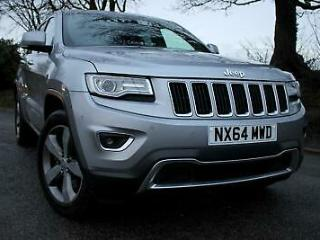Jeep Grand Cherokee 3.0CRD Limited Plus 4x4 Auto 247bhp