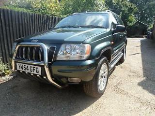 Jeep Grand Cherokee 3.1 td Auto Limited Diesel Estate px and cards welcome