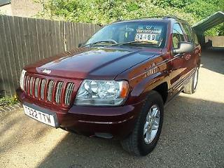 Jeep Grand Cherokee 4.0 auto Limited LPG Gas 4x4 Cards welcome