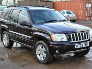 JEEP GRAND CHEROKEE CRD LIMITED AUTO