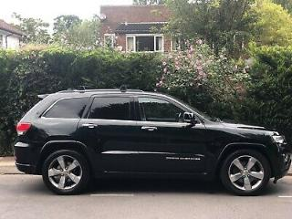 Jeep Grand Cherokee Overland V6 3.0L MASSIVE SPEC