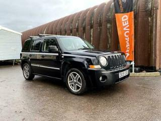 Jeep Patriot 2.0CRD Limited 4/2WD Leather Parking sensors New MoT