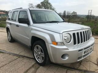 JEEP PATRIOT 2.4 SPORT 2008/58 WITH FULL SERVICE HISTORY, 4X4 SUV 4 WHEEL DRIVE