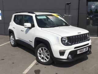 Jeep Renegade 1.0 T3 GSE LONGITUDE 5DR SUV, 3961 miles, £14996