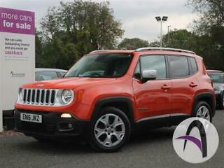Jeep Renegade 1.4 Multiair Limited 5dr 2WD Panroof