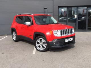 Jeep Renegade 1.6 MULTIJET LIMITED 5DR SUV, 35814 miles, £10295