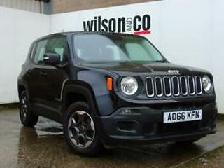 JEEP RENEGADE 1.6 SPORT 2016 1598cc Petrol Manual