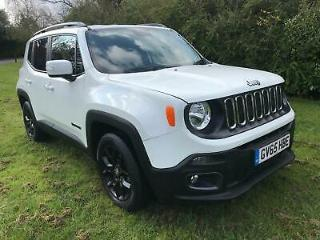 JEEP RENEGADE MultiAir 140 DDCT Auto Start Stop Longitude 2016 Petrol Automatic