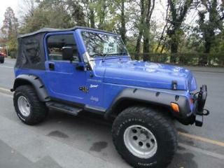 JEEP WRANGLER 2.5 PETROL.SOFT TOP 1998 BIG WHEELS AND ARCH