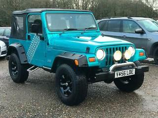 Jeep Wrangler 4.0 Sport PETROL 1999, 55000 MILES FROM NEW, FAMILY OWNED