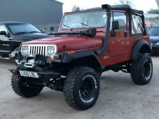 Jeep Wrangler 4.0L,lifted,winch,diff locks and more