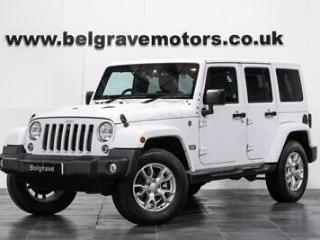 Jeep Wrangler AUTO CRD JK EDITION UNLIMITED 4DR GREAT SPEC SAT NAV HEATED LEATHE