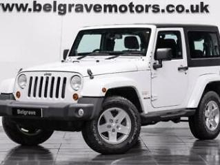 Jeep Wrangler CRD SAHARA AUTO ONE OWNER LOW MILEAGE STUNNING CONDITION