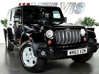 Jeep Wrangler Crd Sahara Unlimited Convertible 2.8 Automatic Diesel