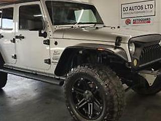 Jeep wrangler limited 3,8 petrol auto silver show car rust free jap import 2008