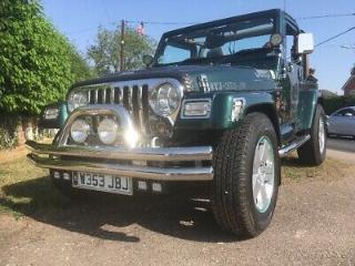 Jeep Wrangler Sahara Soft Top. Excellent Condition, Low Millage,lots of extras