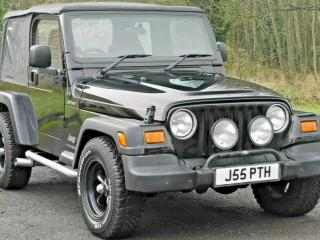 JEEP WRANGLER SPORT 4.0 PETROL MAN SOFT TOP LOW MILEAGE PX DELIVERY CHEAP 4X4