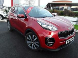 KIA 1.7 CRDI ISG 4 5DR RED