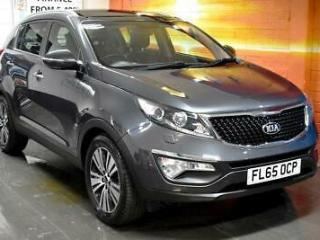 Kia Sportage 1.7 CRDi 3 ISG Nav 5dr, Manual, Pan Roof, Diesel, Grey