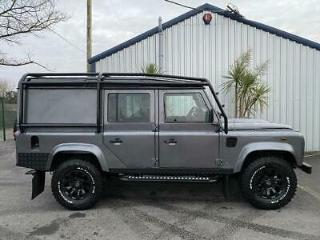 Land Rover 110 Defender 2.2 Utility 4x4 5 Seater Bespoke Metallic Grey 2013