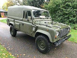 Land Rover 110 Defender Wolf 300 TDi 2.5D Left Hand Drive