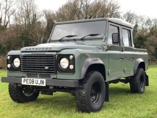Land Rover defender 110 2.4 tdci double cab 78000 MILES