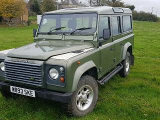 Land Rover Defender 110 County Station Wagon 2000 TD5 *Galvanised Chassis