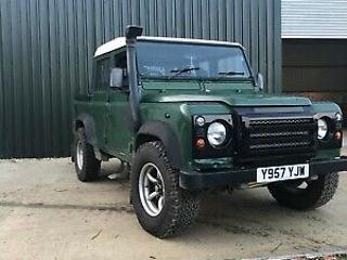 Land Rover Defender 110 Double Cab TD5
