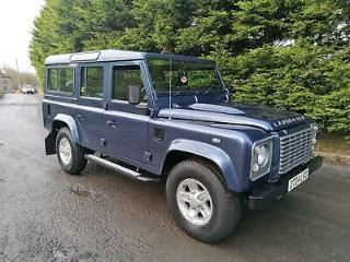 LAND ROVER DEFENDER 110 XS COUNTY STATION WAGON 2.4 TDCi