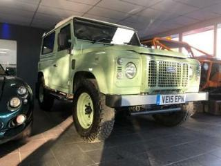 LAND ROVER Defender 90 Heritage Station wagon actual Launch vehicle