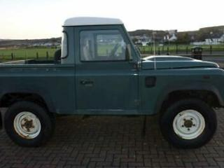 Land Rover Defender 90 P/U Pick Up 2.4 Manual Diesel