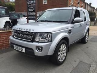 Land Rover Discovery 3.0SDV6 255bhp auto XS commercial