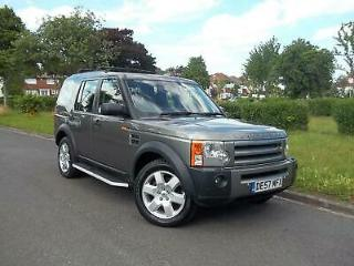 LAND ROVER DISCOVERY 3 2.7 TD V6 HSE AUTOMATIC GENUINE LOW MILEAGE