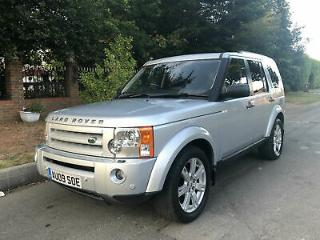 Land Rover Discovery 3 2.7TD V6 Auto 2009 HSE 7 Seater Tow Bar SPARES REPAIRS