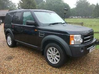 Land Rover Discovery 3 Tdv6 SE 118K,FSH+LEATHER DIESEL AUTOMATIC 2008/58