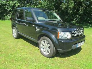 Land Rover Discovery 4 3.0 TDV6 GS Auto, Black, Leather