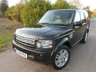 Land Rover Discovery 4 3.0SD V6 HSE Station Wagon 5d 2993cc auto 2011 discovery