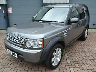 Land Rover Discovery 4 3.0SDV6 245hp auto Van Commercial Plus VAT