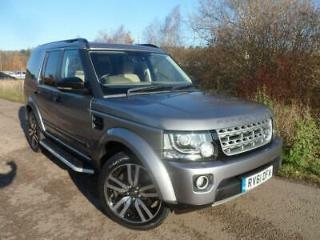 Land Rover Discovery 4 3.0SDV6 255bhp 4X4 XS Station Wagon 5d 2993cc Auto 2011