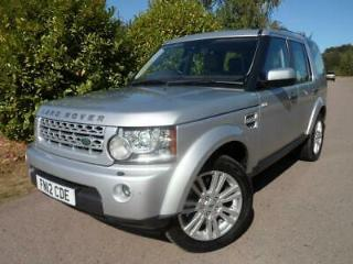 Land Rover Discovery 4 3.0SDV6 255bhp 4X4 XS Station Wagon 5d 2993cc Auto 2012