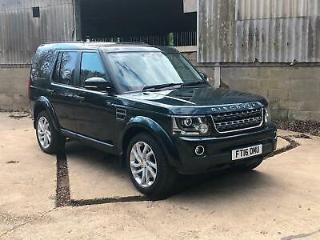 Land Rover Discovery 4 3.0SDV6 255bhp auto 2016 SE Commercial 7 seater