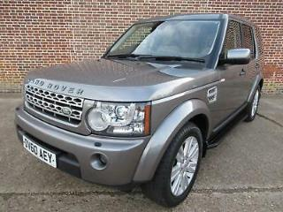 Land Rover Discovery 4 3.0TDV6 242bhp 4X4 Auto 2010MY HSE