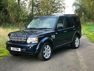 Land Rover Discovery 4 3.0TDV6 242bhp 4X4 Auto 2010MY XS