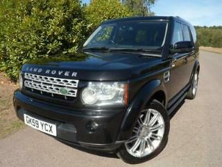 Land Rover Discovery 4 3.0TDV6 242bhp 4X4 HSE Station Wagon 5d 2993cc Auto