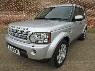 Land Rover Discovery 4 XS Commercial 3.0TDV6 210bhp auto 2012MY