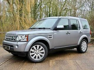 LAND ROVER DISCOVERY SDv6 255 Auto HSE Grey Auto Diesel, 2012