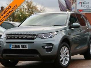 LAND ROVER DISCOVERY SPORT 2.0 TD4 SE TECH 180 BHP DIESEL 2016/ 66