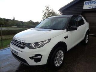 Land Rover Discovery Sport 2.2 SD4 SE Tech 4x4 5dr 7seater 2015 white FSH